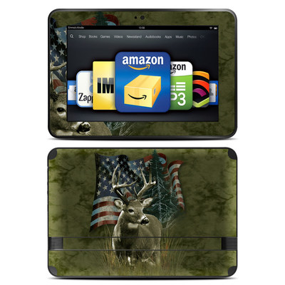 Amazon Kindle Fire HD 8.9 Skin - Deer Flag