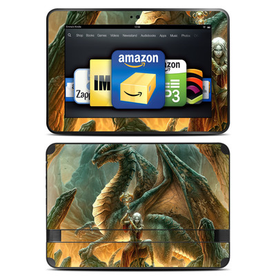 Amazon Kindle Fire HD 8.9 Skin - Dragon Mage