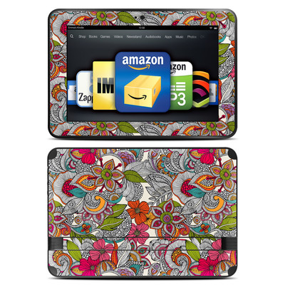 Amazon Kindle Fire HD 8.9 Skin - Doodles Color