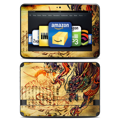 Amazon Kindle Fire HD 8.9 Skin - Dragon Legend