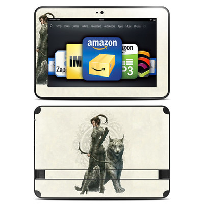 Amazon Kindle Fire HD 8.9 Skin - Half Elf Girl
