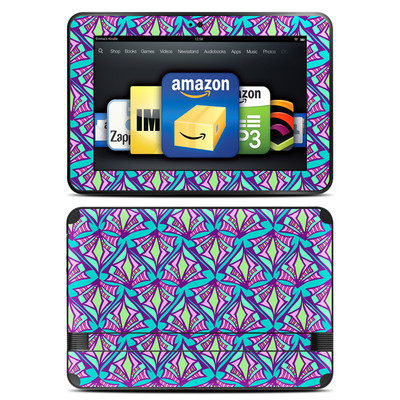 Amazon Kindle Fire HD 8.9 Skin - Fly Away Teal