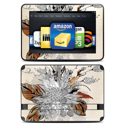 Amazon Kindle Fire HD 8.9 Skin - Fall Floral