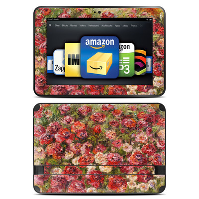 Amazon Kindle Fire HD 8.9 Skin - Fleurs Sauvages
