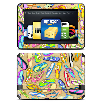 Amazon Kindle Fire HD 8.9 Skin - Flip Flops