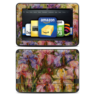 Amazon Kindle Fire HD 8.9 Skin - Field Of Irises