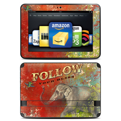 Amazon Kindle Fire HD 8.9 Skin - Follow Your Bliss
