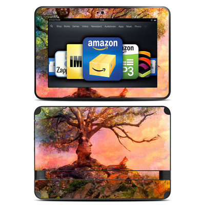 Amazon Kindle Fire HD 8.9 Skin - Fox Sunset