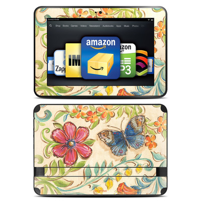 Amazon Kindle Fire HD 8.9 Skin - Garden Scroll