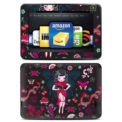 Amazon Kindle Fire HD 8.9 Skin - Geisha Gal