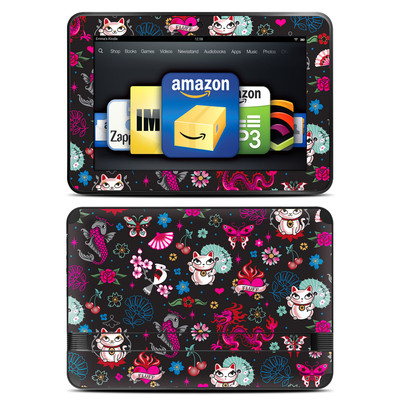 Amazon Kindle Fire HD 8.9 Skin - Geisha Kitty