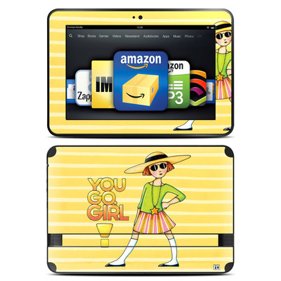 Amazon Kindle Fire HD 8.9 Skin - You Go Girl