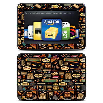 Amazon Kindle Fire HD 8.9 Skin - Gone Fishing
