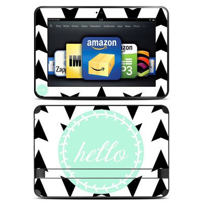 Amazon Kindle Fire HD 8.9 Skin - Greetings