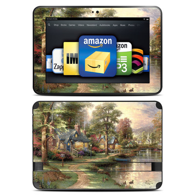 Amazon Kindle Fire HD 8.9 Skin - Hometown Lake