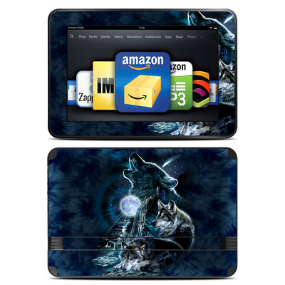 Amazon Kindle Fire HD 8.9 Skin - Howling