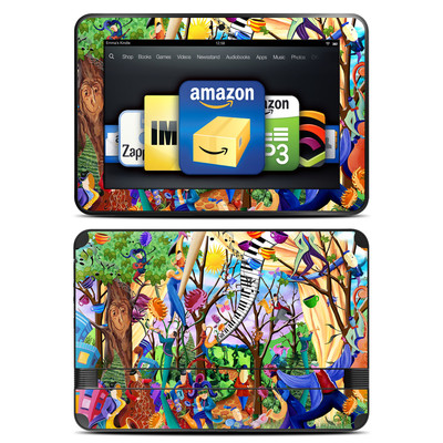 Amazon Kindle Fire HD 8.9 Skin - Happy Town Celebration