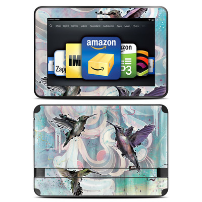 Amazon Kindle Fire HD 8.9 Skin - Hummingbirds