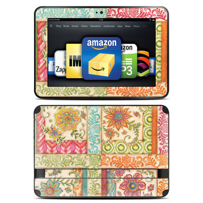 Amazon Kindle Fire HD 8.9 Skin - Ikat Floral