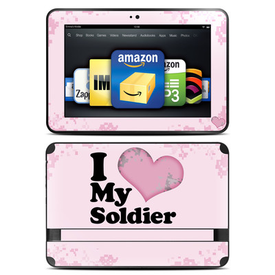 Amazon Kindle Fire HD 8.9 Skin - I Love My Soldier