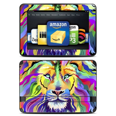 Amazon Kindle Fire HD 8.9 Skin - King of Technicolor