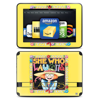 Amazon Kindle Fire HD 8.9 Skin - She Who Laughs
