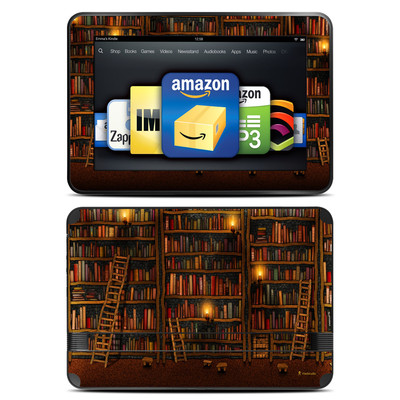 Amazon Kindle Fire HD 8.9 Skin - Library