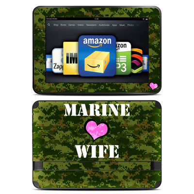 Amazon Kindle Fire HD 8.9 Skin - Marine Wife