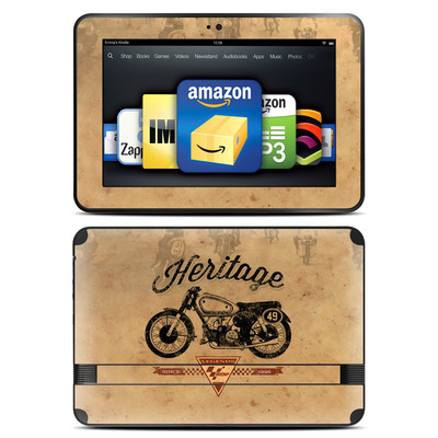 Amazon Kindle Fire HD 8.9 Skin - MotoGP Heritage
