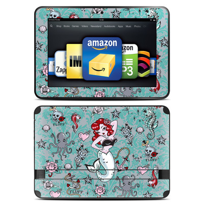 Amazon Kindle Fire HD 8.9 Skin - Molly Mermaid