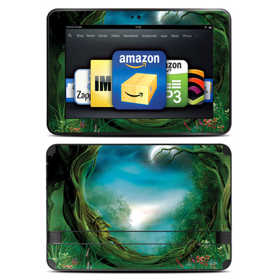 Amazon Kindle Fire HD 8.9 Skin - Moon Tree