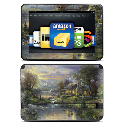 Amazon Kindle Fire HD 8.9 Skin - Natures Paradise
