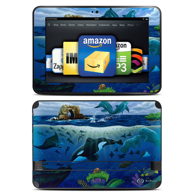Amazon Kindle Fire HD 8.9 Skin - Oceans For Youth