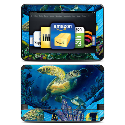 Amazon Kindle Fire HD 8.9 Skin - Ocean Fest
