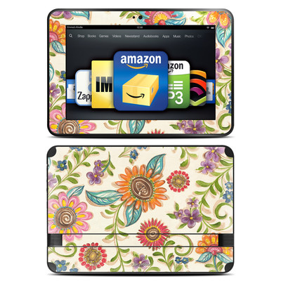 Amazon Kindle Fire HD 8.9 Skin - Olivia's Garden