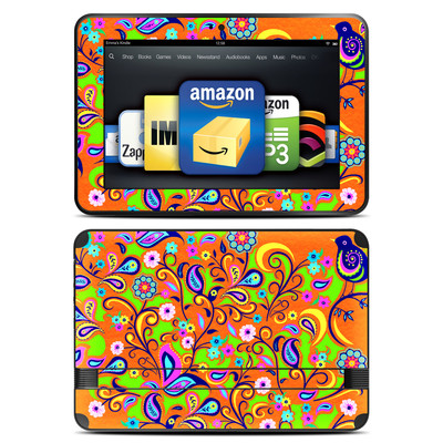 Amazon Kindle Fire HD 8.9 Skin - Orange Squirt