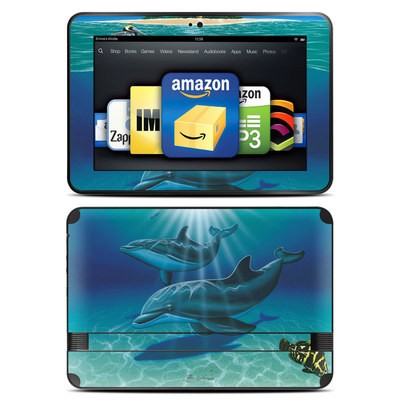 Amazon Kindle Fire HD 8.9 Skin - Ocean Serenity