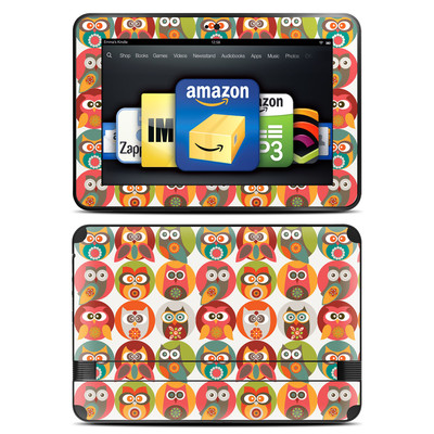 Amazon Kindle Fire HD 8.9 Skin - Owls Family