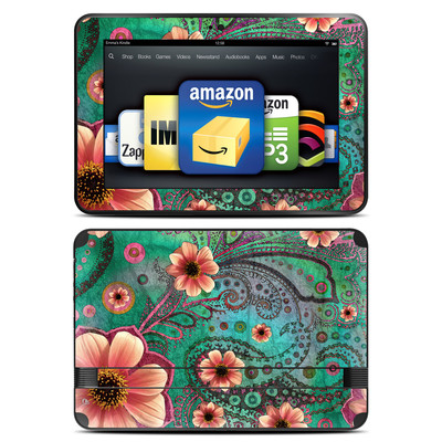 Amazon Kindle Fire HD 8.9 Skin - Paisley Paradise