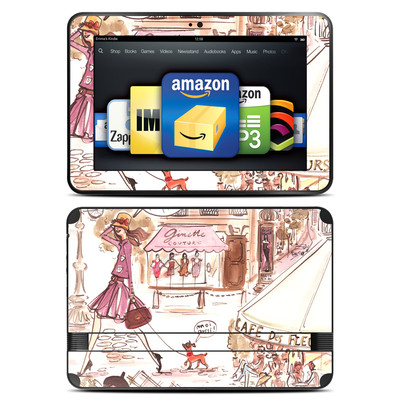 Amazon Kindle Fire HD 8.9 Skin - Paris Makes Me Happy