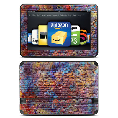Amazon Kindle Fire HD 8.9 Skin - Painted Brick
