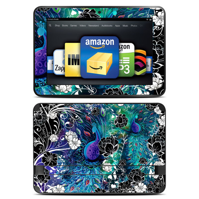Amazon Kindle Fire HD 8.9 Skin - Peacock Garden
