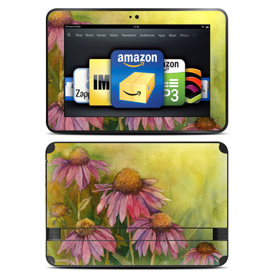 Amazon Kindle Fire HD 8.9 Skin - Prairie Coneflower