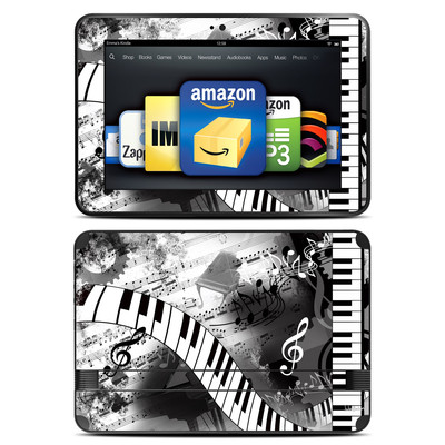 Amazon Kindle Fire HD 8.9 Skin - Piano Pizazz