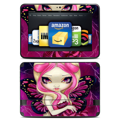 Amazon Kindle Fire HD 8.9 Skin - Pink Lightning