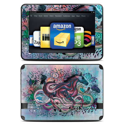 Amazon Kindle Fire HD 8.9 Skin - Poetry in Motion