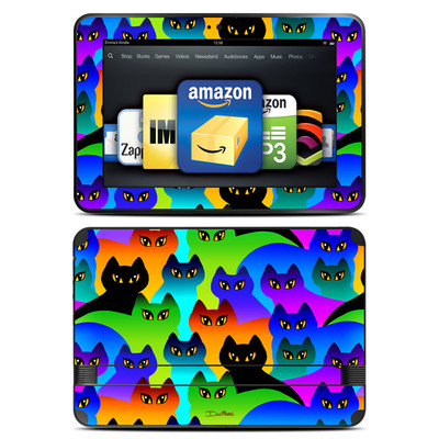 Amazon Kindle Fire HD 8.9 Skin - Rainbow Cats