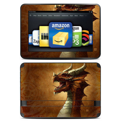 Amazon Kindle Fire HD 8.9 Skin - Red Dragon