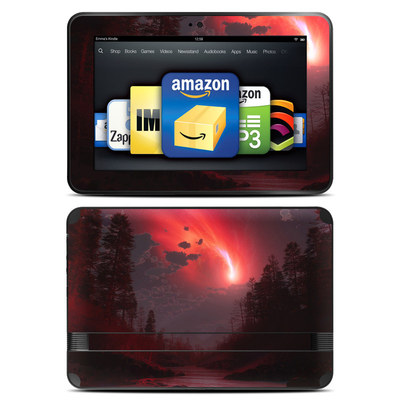 Amazon Kindle Fire HD 8.9 Skin - Red Harbinger