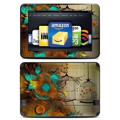 Amazon Kindle Fire HD 8.9 Skin - Rusty Lace